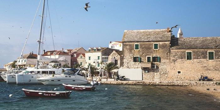 Miasto Primosten w Chorwacji
