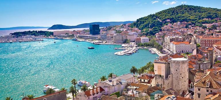 Miasto Split w Chorwacji