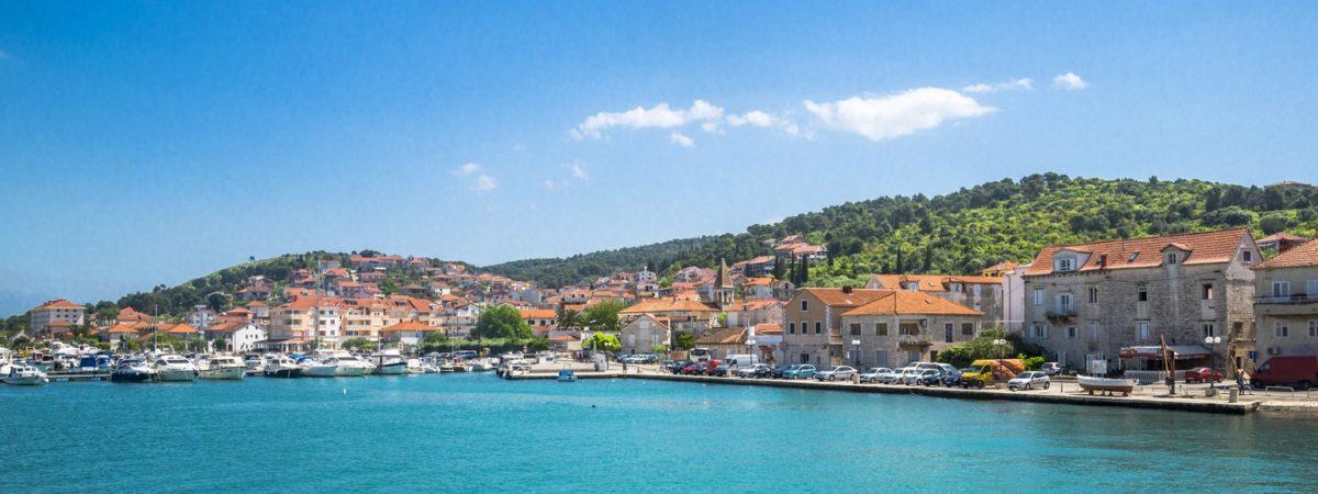 Miasto Trogir w Chorwacji