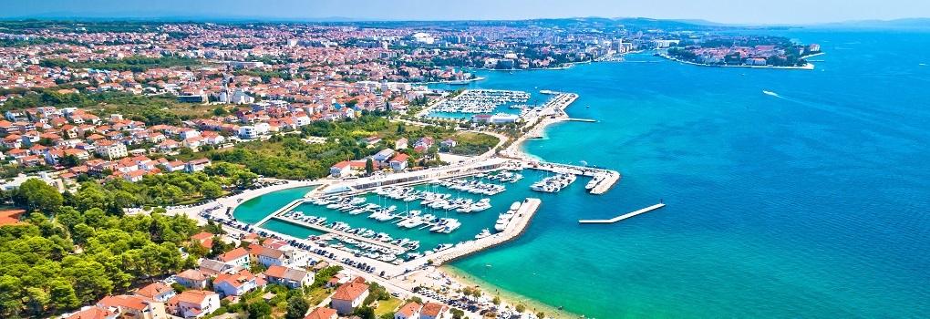 Miasto Zadar w Chorwacji